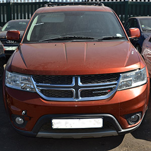 2013 DODGE JOURNEY 3.6 A/T (DARK BURGUNDY)